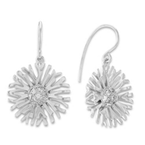 Sterling_Silver_Blossom_Drop_Earrings_With_Round_Cubic_Zirconia