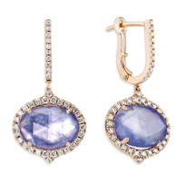 18K_Rose_Gold_Lapis,_Mother_of_Pearl_and_Amethyst_Triplet_Earrings