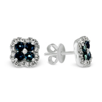 14K_White_Gold_Alexandrite_and_Diamond_Flower_Earrings