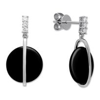 14K_White_Gold_Black_Onyx_and_Diamond_Earrings