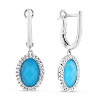 18K_White_Gold_Turquoise_and_White_Topaz_Doublets_and_Round_Diamond_Earrings