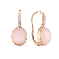 14K_Rose_Gold_Oval_Rose_Quartz,_Pink_Mother_of_Pearl_Doublet_Earrings