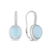 14K_White_Gold_Oval_Blue_Topaz,_White_Mother_of_Pearl_Doublet_Earrings