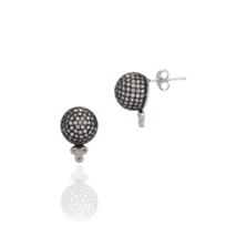 Freida_Rothman_Sterling_Silver_and_Black_Rhodium_Pave_Ball_Stud_Earrings