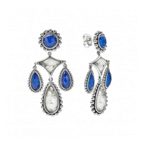Lagos_Sterling_Silver_Maya_Lapis_and_Howlite_Doublet_Chandelier_Earrings_with_14K_Yellow_Gold_Posts