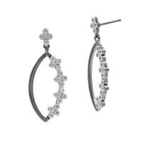 freida_rothman_sterling_silver_&_black_rhodium_industrial_finish_4_points_pointed_oval_drop_earrings