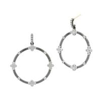 freida_rothman_sterling_silver_&_black_rhodium_industrial_finish_4_point_open_hoop_drop_earrings