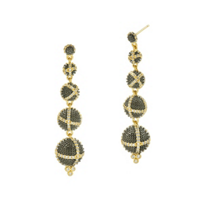 freida_rothman_yellow_tone_sterling_silver_&_black_rhodium_textured_ornaments_linear_drop_earrings