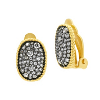 freida_rothman_yellow_tone_sterling_silver_&_black_rhodium_gilded_cable_pave_clip_on_earrings