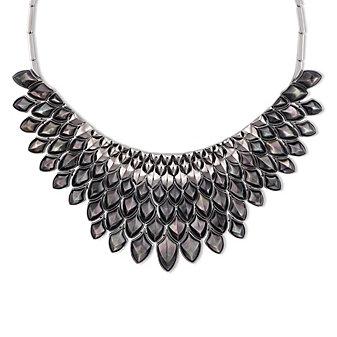 Stephen Webster Black Mother of Pearl Superstud Necklace