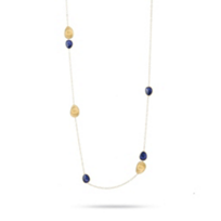 Marco_Bicego_18K_Yellow_Gold_&_Lapis_Lunaria_Long_Chain_Necklace,_40""