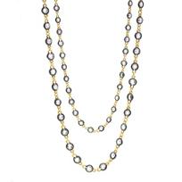 Freida_Rothman_Sterling_Silver_&_Black_Rhodium_Round_Gems_by_the_Yard_Necklace