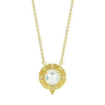 freida rothman amazonian allure single stone pendant necklace