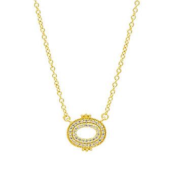 freida rothman amazonian allure pave pendant necklace