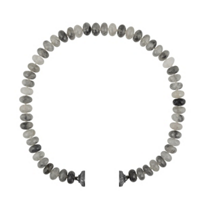 clara_williams_limited_edition_gray_quartz_beaded_necklace,_16.5""