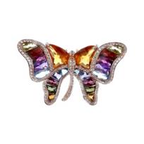 14k_rose_gold_multi_stone_&_diamond_butterfly_brooch