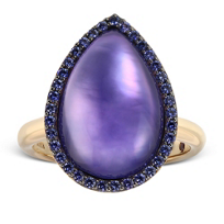 Roberto_Coin_18K_Rose_Gold_Amethyst,_Mother_of_Pearl_and_Lapis_Triplet_Ring