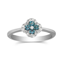 14K_White_Gold_Alexandrite_and_Diamond_Flower_Ring