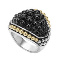 Lagos_Sterling_Silver_&_18K_Yellow_Gold_Black_Onyx_Caviar_Ring
