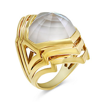 Stephen Webster 18K Yellow Gold Lady Stardust Ring