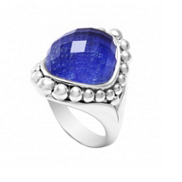 Lagos_Sterling_Silver_Maya_Lapis_Doublet_Dome_Ring,_Size_7