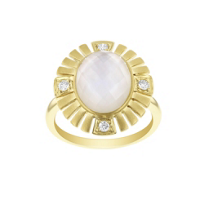 18k_yellow_gold_checkerboard_oval_rock_crystal_quartz,_mother_of_pearl,_&_diamond_ring