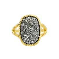 freida_rothman_yellow_tone_sterling_silver_&_black_rhodium_gilded_cable_large_cocktail_ring,_size_7