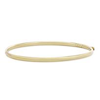14K_Yellow_Gold_Round_Bangle_Bracelet