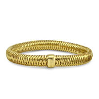 Roberto_Coin_18K_Yellow_Gold_Medium_Primavera_Stretch_Bangle_Bracelet