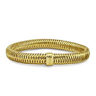 Roberto Coin 18K Yellow Gold Medium Primavera Stretch Bangle Bracelet