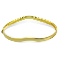 14K_Yellow_Gold_Wave_Bangle_Bracelet