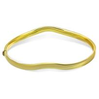 14K_Yellow_Gold_Wave_Bangle_Bracelet