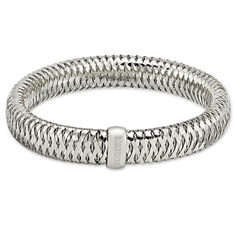 Roberto Coin 18K White Gold Primavera Bangle Bracelet
