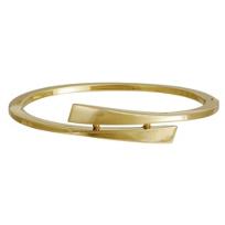14K_Yellow_Gold_Square_Edge_Split_Bangle_Bracelet