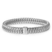 Roberto_Coin_Primavera_18K_White_Gold_Bangle_Bracelet