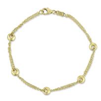 14K_Yellow_Gold_Station_Bracelet