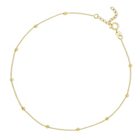 14K_Yellow_Gold_Ankle_Bracelet_With_Bead_Stations