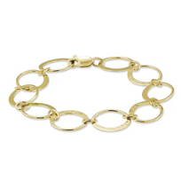 Toby_Pomeroy_14K_Yellow_Gold_Eclipse_Link_Bracelet,_7""