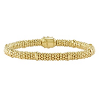 Lagos_18K_Yellow_Gold_Caviar_Gold_Beaded_Bracelet