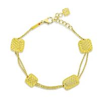 Roberto_Coin_18K_Yellow_Gold_Silk_Square_&_Rectangular_Stations_Bracelet