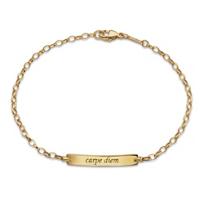 "Monica_Rich_Kosann_18K_Yellow_Gold_""Carpe_Diem""_Poesy_Bracelet"