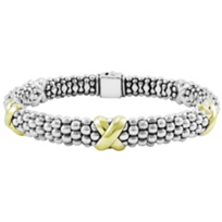 Lagos_Sterling_Silver_&_18K_Yellow_Gold_Signature_Caviar_X_Beaded_Bracelet