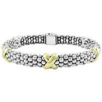 Lagos_Sterling_Silver_&_18K_Yellow_Gold_Signature_Caviar_X_Beaded_Bracelet