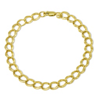 14K_Yellow_Gold_Double_Circle_Link_Bracelet,_7.5""
