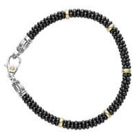 Lagos_Sterling_Silver_and_18K_Yellow_Gold_Black_Ceramic_Caviar_5_Station_Bracelet