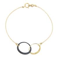 toby_pomeroy_14k_yellow_gold_&_black_sterling_silver_double_oval_link_eclipse_bracelet