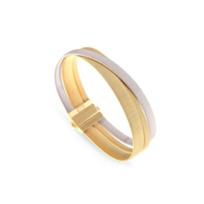 "marco_bicego_18k_two_tone_masai_three_row_bracelet_,_7""__"