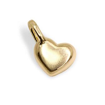 Alex Woo 18K Yellow Gold Mini Heart Charm
