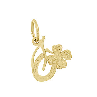 Rembrandt 14K Yellow Gold Good Luck Charm