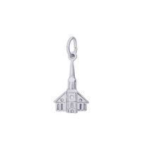 Rembrandt_14K_White_Gold_Steeple_Church_Charm